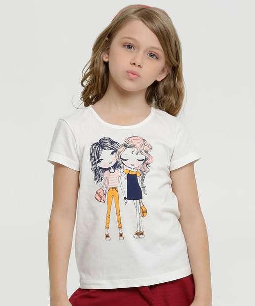 Image_Blusa Infantil Estampa Meninas Manga Curta Marisa