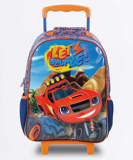 Image_Mochila Infantil Escolar Rodinha Blaze and the Monster Machines Xeryus