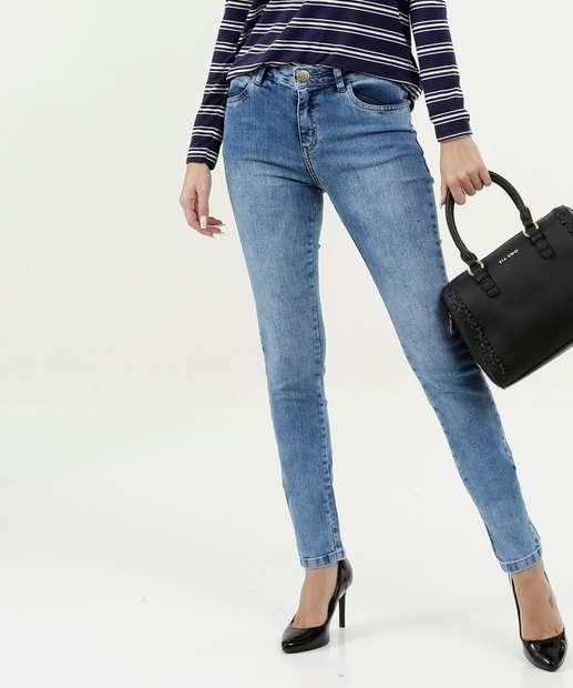 Image_Calça Feminina Skinny Cintura Média Five Jeans