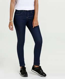Calça Juvenil Jeans Cigarrete Marisa