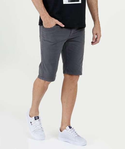 Image_Bermuda Masculina Sarja Bolsos Five Jeans