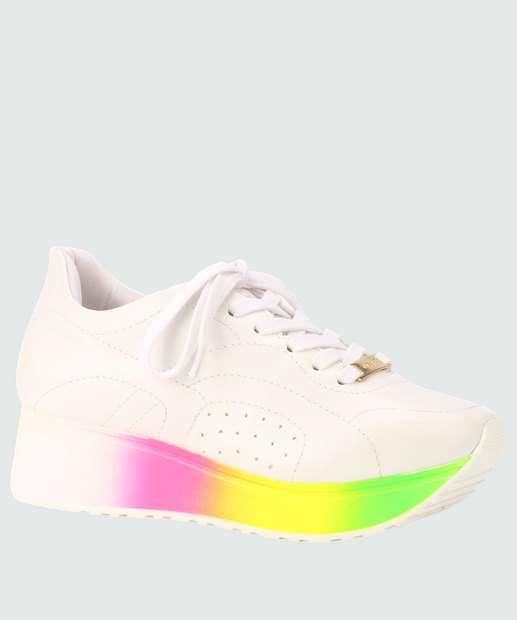 Image_Tênis Feminino Chunky Sneaker Via Uno 249007SEBV