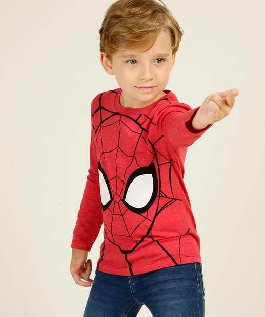 Image_Camiseta Infantil Estampa Homem Aranha Marvel Tam 4 a 10