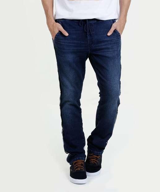 Image_Calça Masculina Moletinho Jeans Marisa