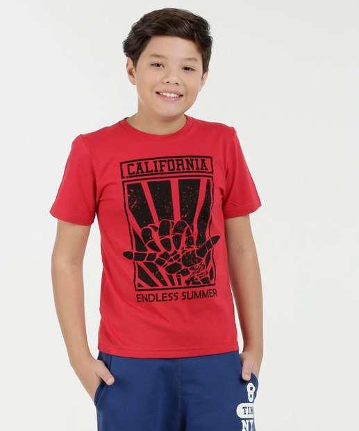 Image_Camiseta Juvenil Estampa Frontal Manga Curta Marisa