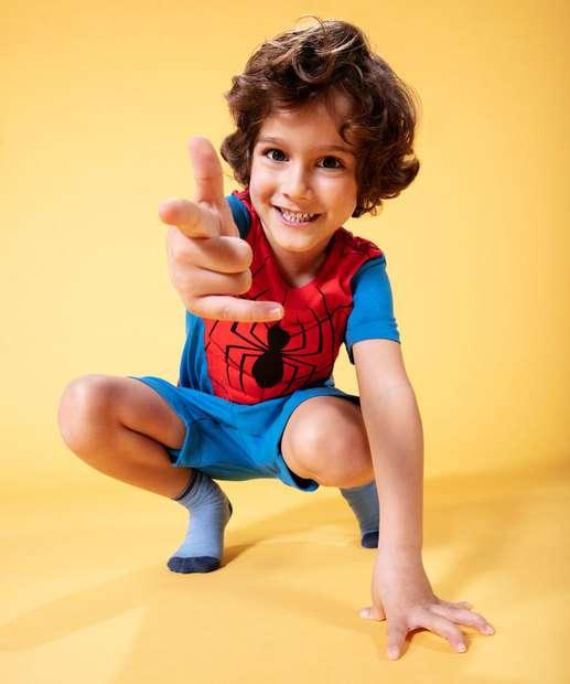 Image_ Pijama Infantil Estampa Homem Aranha Marvel