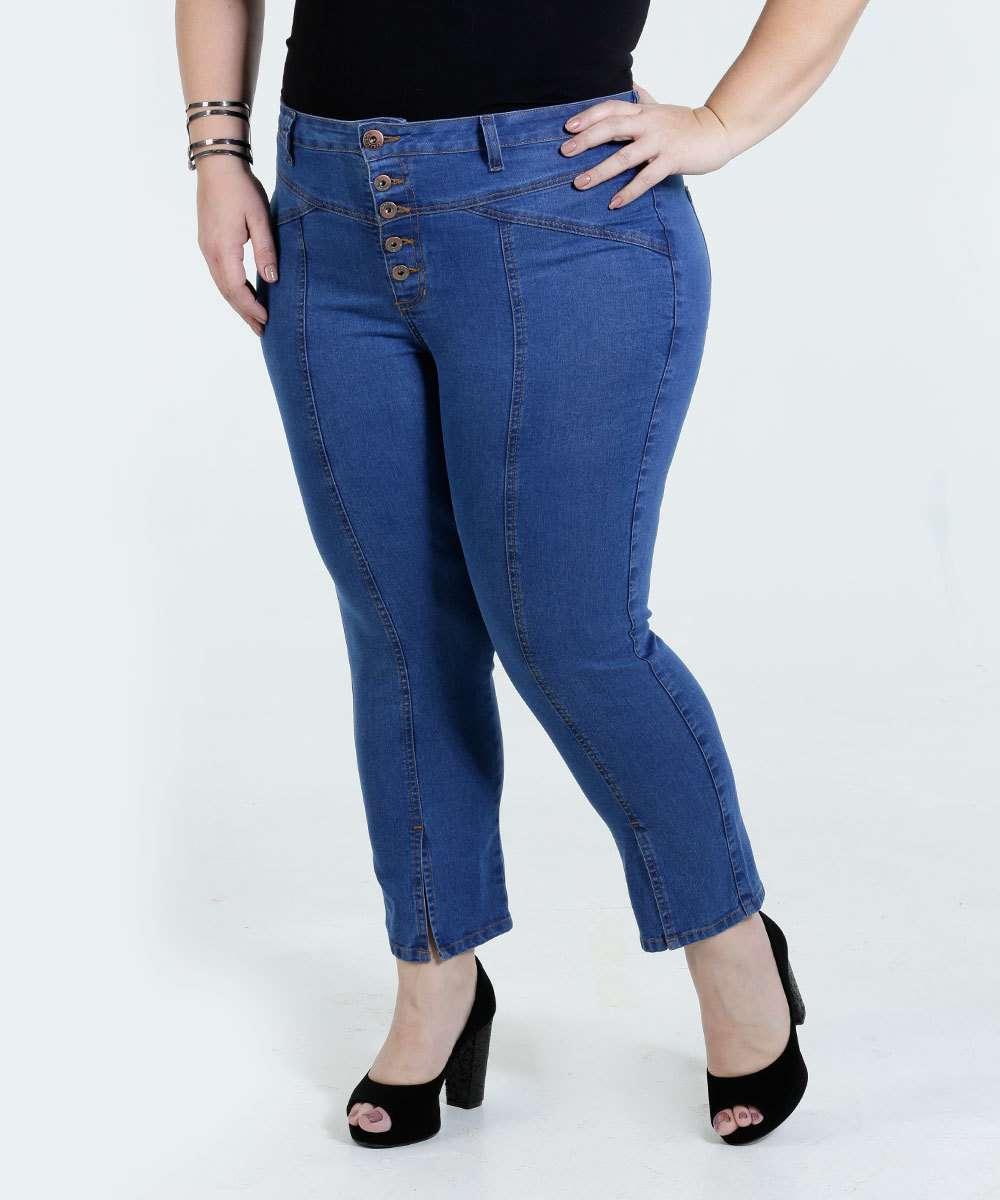 04ee97c81 Calça Feminina Jeans Plus Size Marisa | Marisa