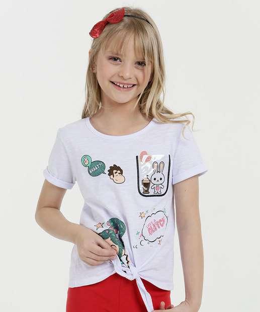 Image_Blusa Infantil Estampa Wifi Ralph Manga Curta Disney