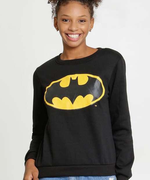Image_Blusão Feminino Moletinho Batman Liga da Justiça