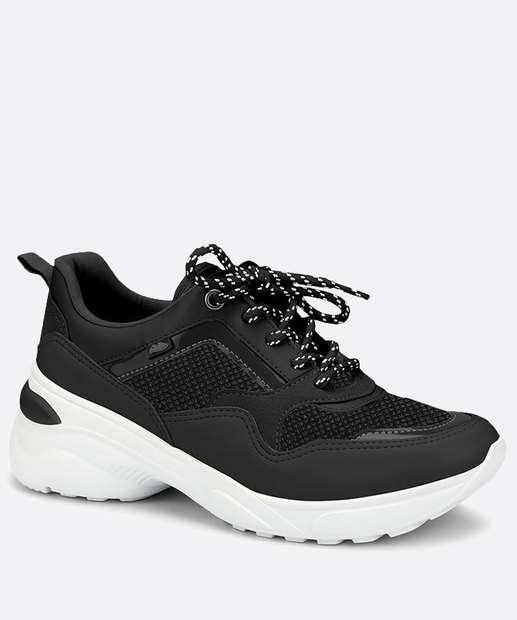 Image_Tênis Feminino Chunky Sneaker Recorte Dakota