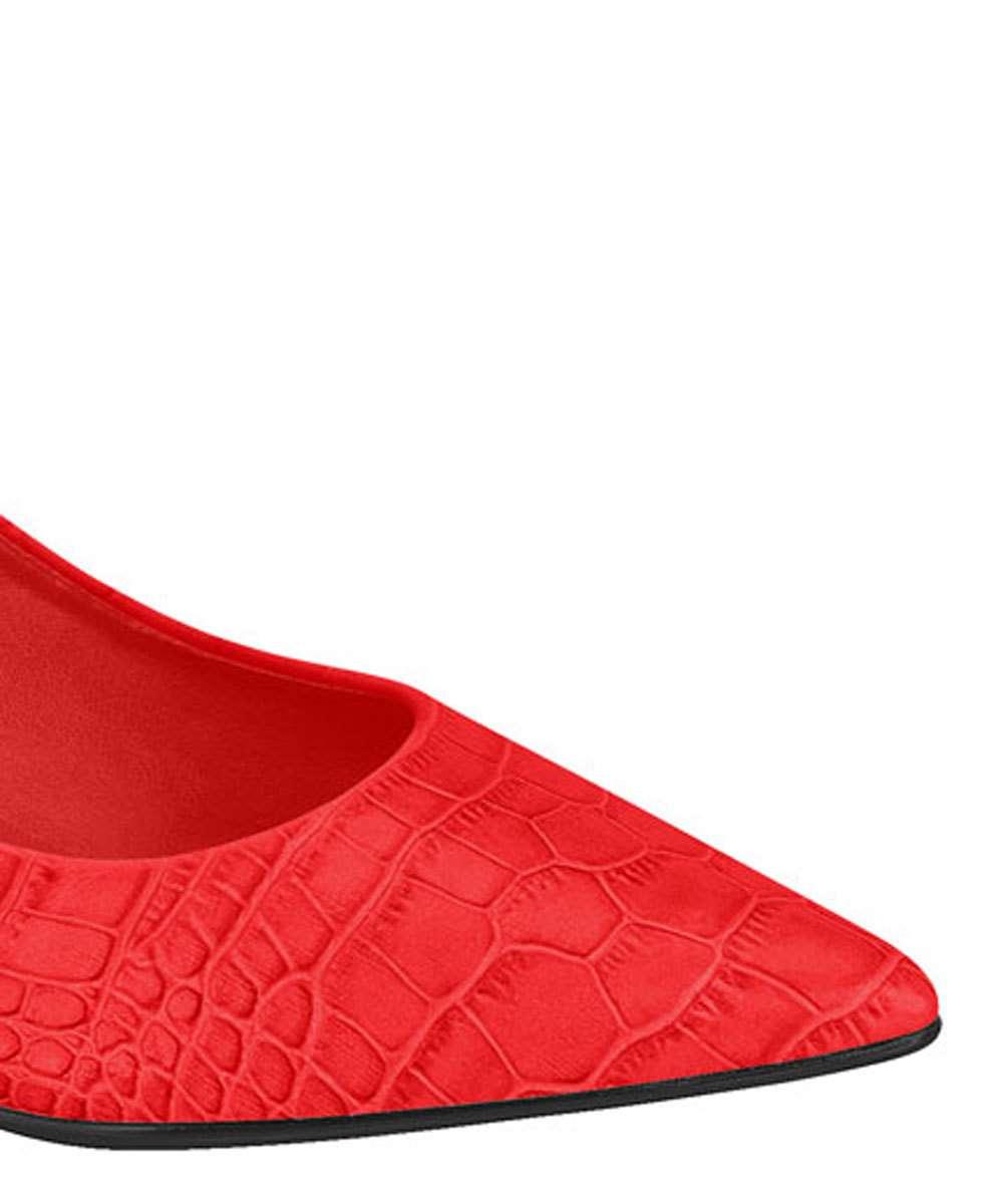 f5b37ef1f2 1  2  3  4. Compartilhar. adicionar aos favoritos produto favoritado. 58%  OFF. Scarpin Feminino Chanel Textura Croco Vizzano 1279202