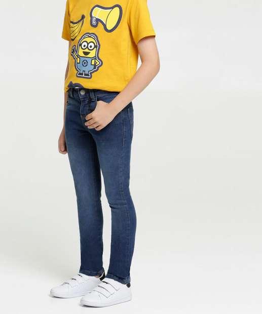 Image_Calça Infantil Jeans Bolsos MR