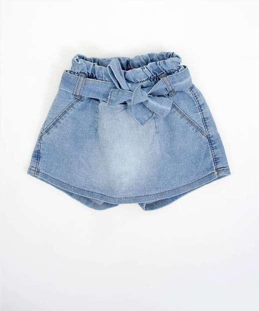 Image_Short Saia Infantil Jeans