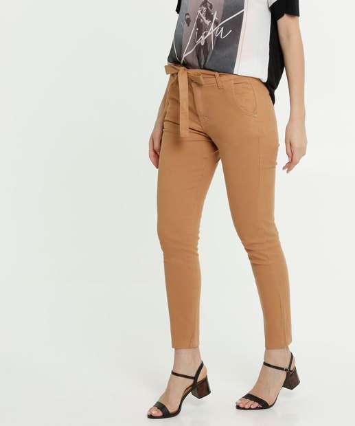 Image_Calça Feminina Sarja Skinny Clochard Zune Jeans