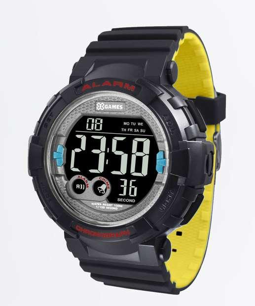 c87f7544878 Relógio Masculino Digital XGames XMPPD534 PXPY