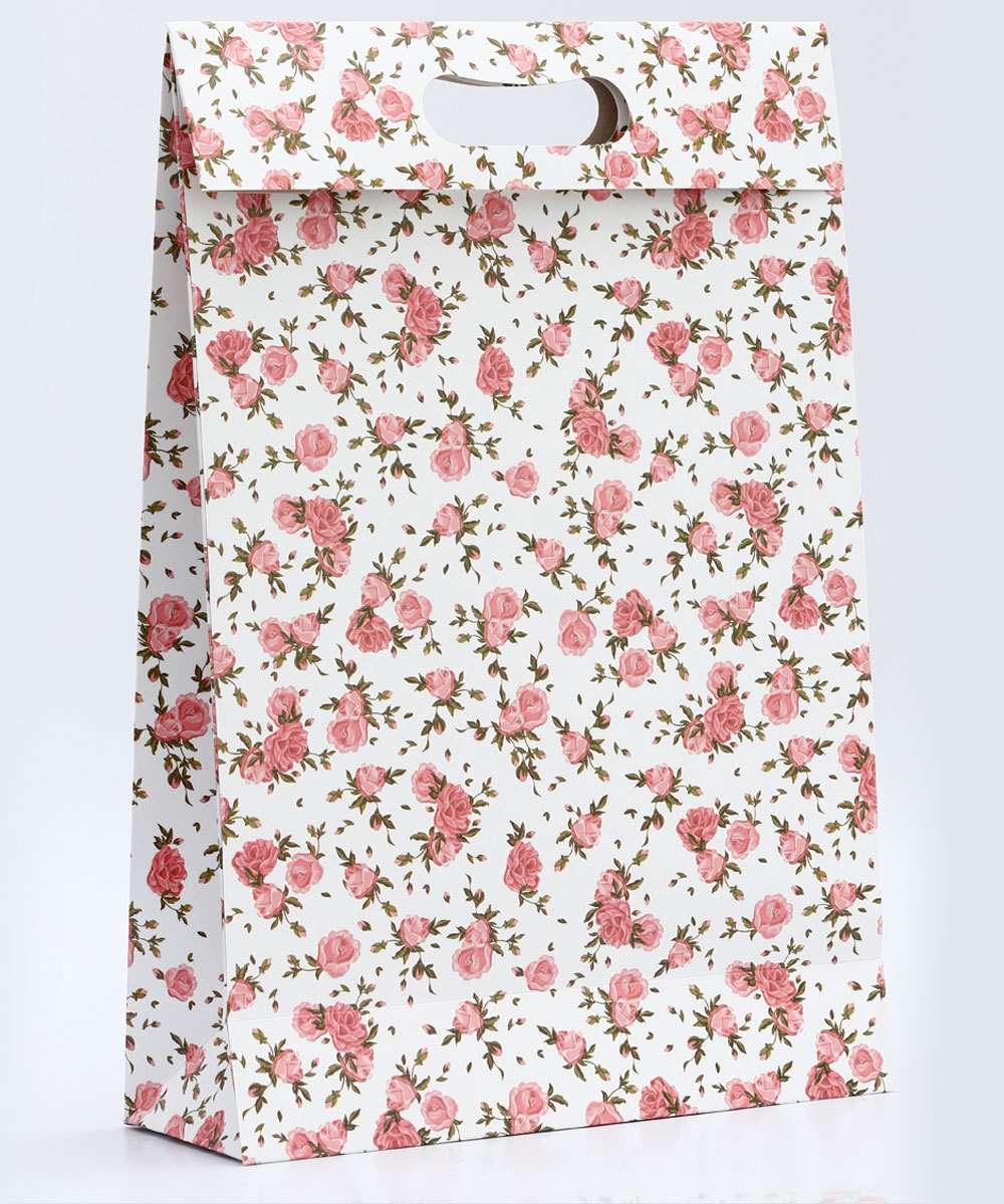 Image_Embalagem Presente Sacola Floral Marisa