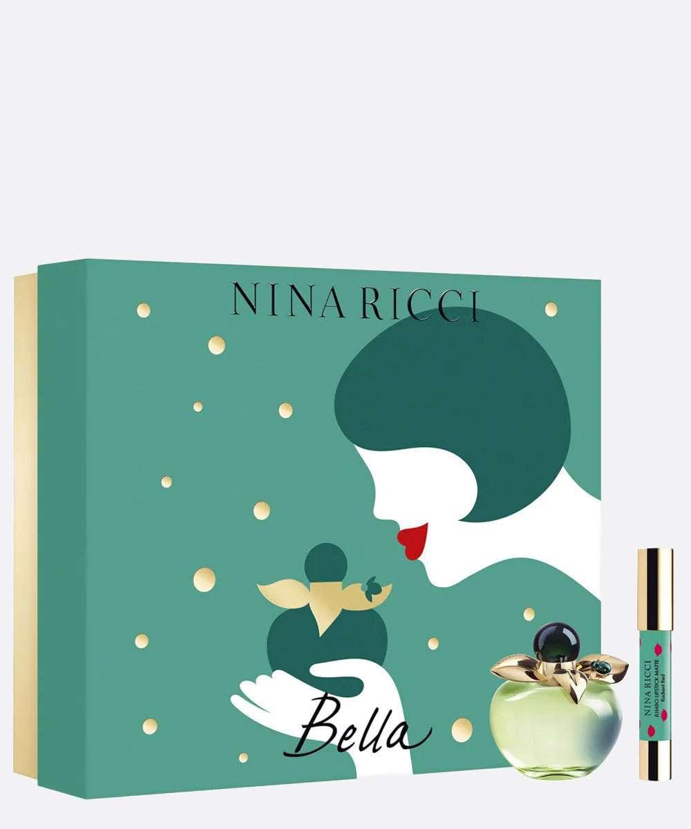 Kit Perfume Bella 80ml e Batom Nina Ricci