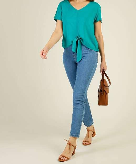 Image_Calça Jeans Skinny Feminina Bolsos Biotipo