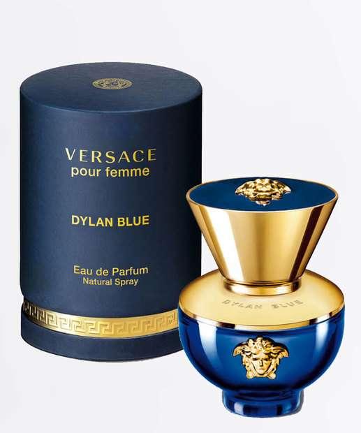 Image_Perfume Feminino Dylan Blue Pour Femme Versace - Eau de Toilette 100ml