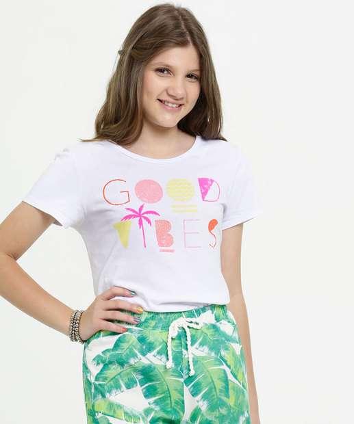 Image_Blusa Juvenil Estampa Frontal Neon Manga Curta Marisa