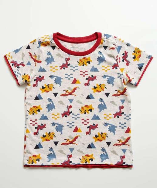 Image_Camiseta Infantil Estampa Dinossauros MR