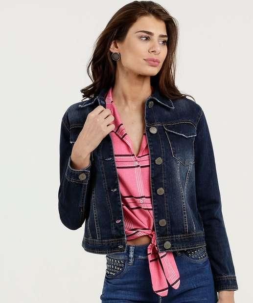 Image_Jaqueta Feminina Botões Five Jeans