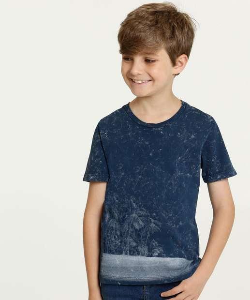 Image_Camiseta Infantil Estampa Tie Dye Manga Curta MR
