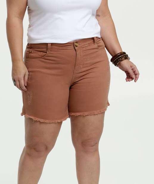 Image_Short Feminino Sarja Puídos Plus Size Marisa