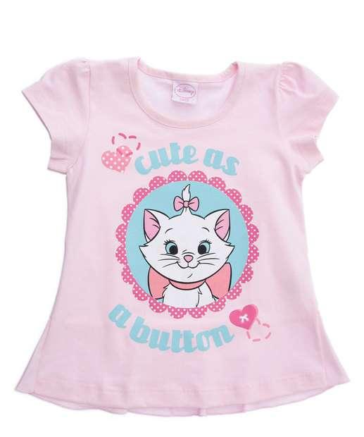 Image_Blusa Infantil Estampa Marie Brilho Disney