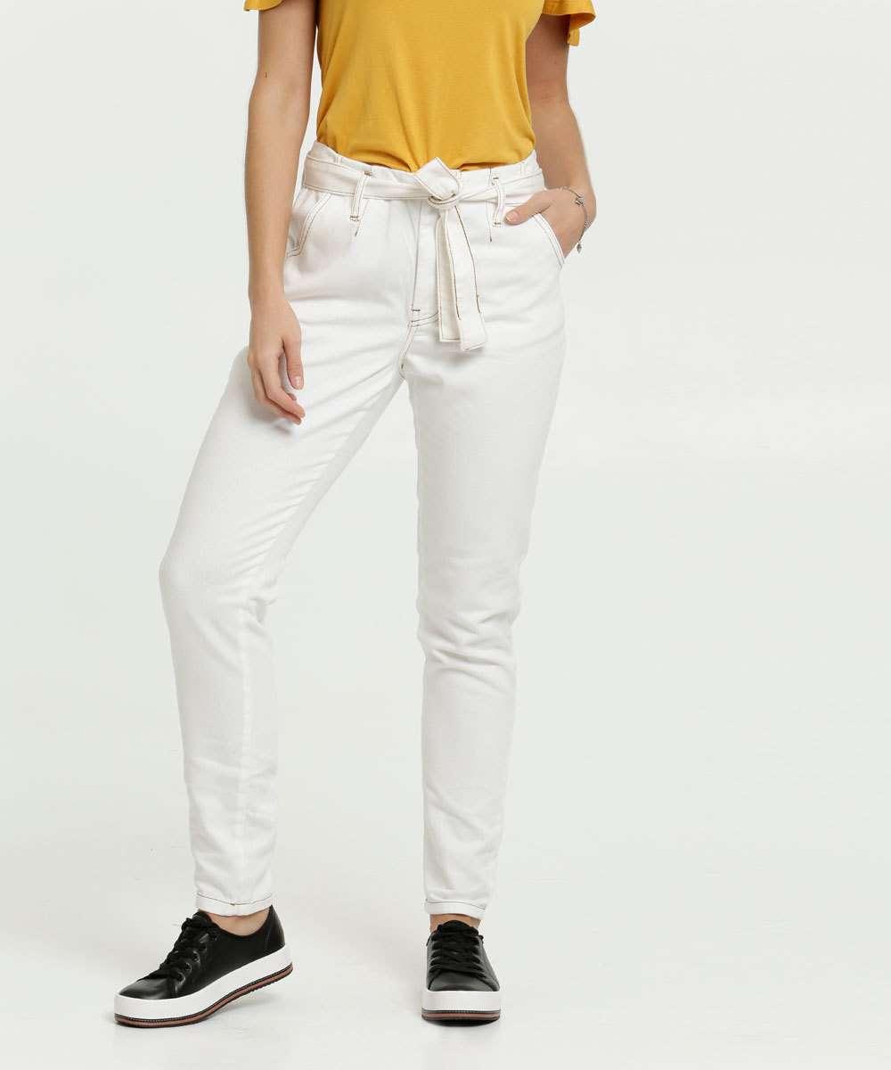 Calça Feminina Sarja Clochard Zune Jeans