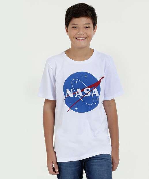 Image_Camiseta Juvenil Estampa Frontal Nasa Manga Curta MR
