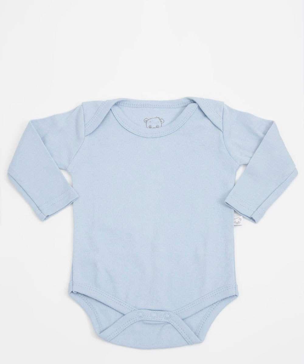 Body Infantil Bebê Manga Longa Pimpolho