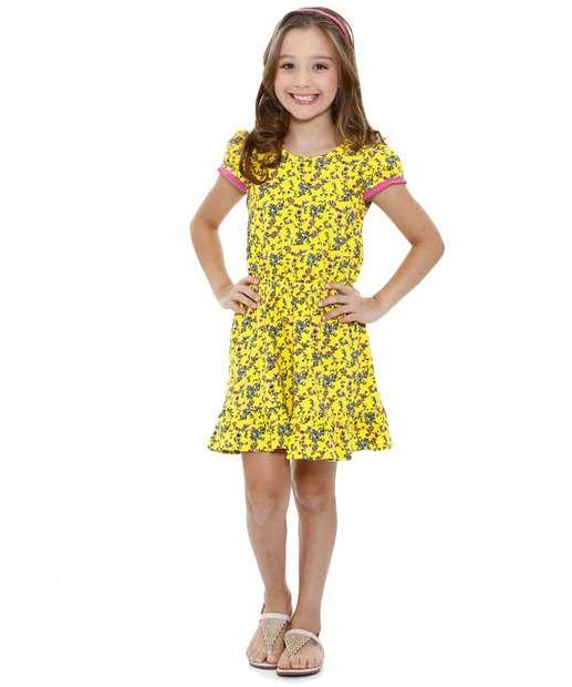 Image_Vestido Infantil Estampa Floral Marisa