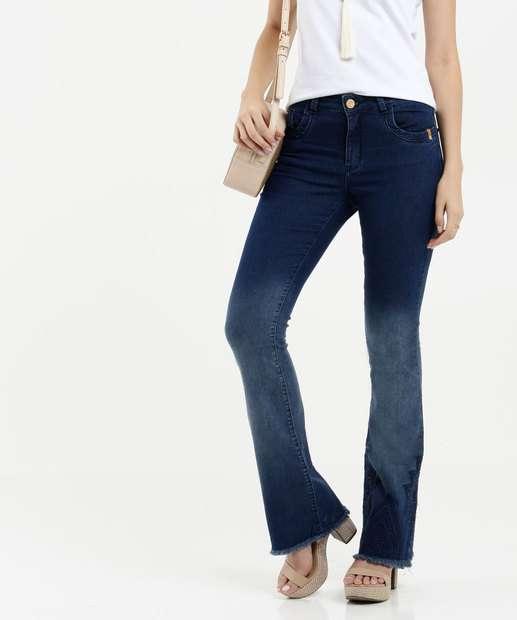 Image_Calça Feminina Jeans Flare Zune Jeans By Sabrina Sato