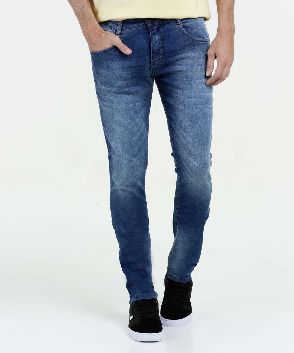 9319a902a Calça Masculina Jeans Skinny Biotipo | Marisa