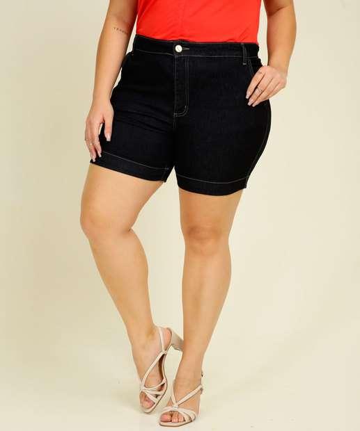 Image_Short Plus Size Feminino Jeans Sawary