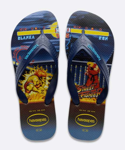 Image_Chinelo Havaianas Masculino Street Fighter