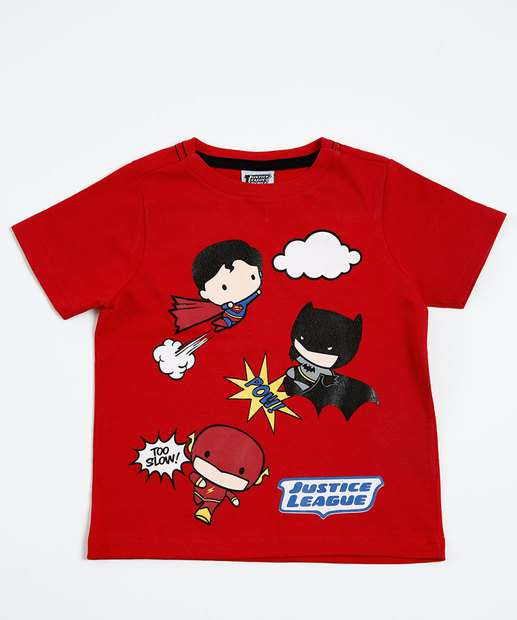 Image_Camiseta Infantil Super Hérois Liga da Justiça