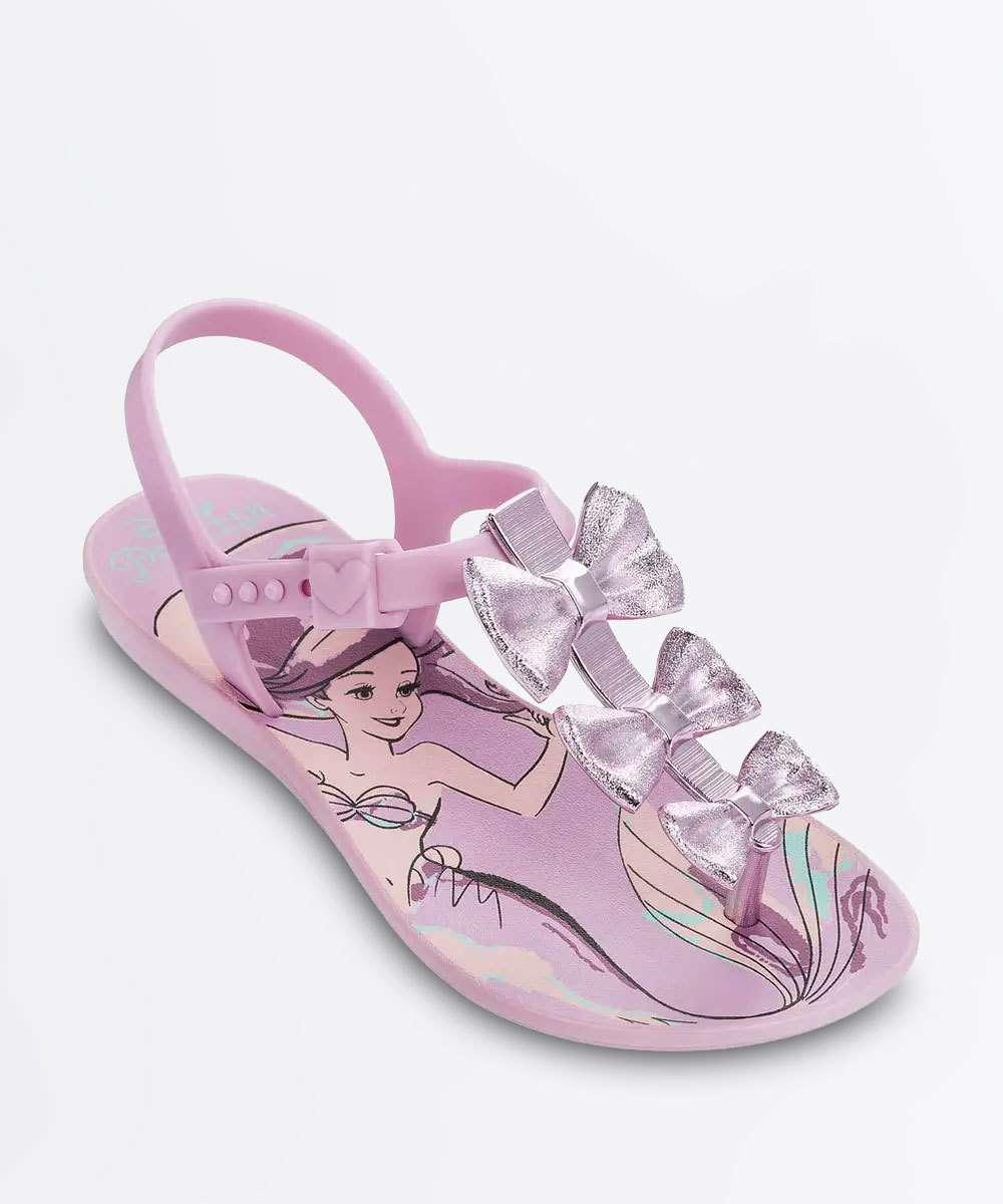 85adae513d Sandália Infantil Laços Princesa Cinderela Grendene Kids 21794