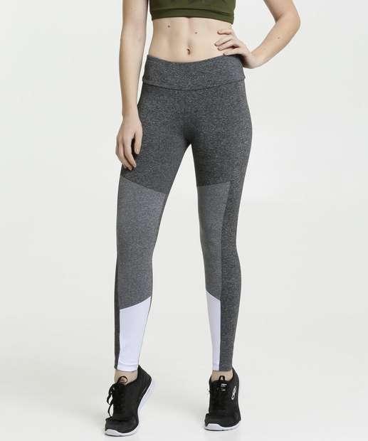 Image_Calça Feminina Legging Fitness Recorte Marisa