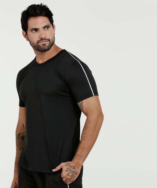 Image_Camiseta Masculina Fitness Manga Curta Fitness MR