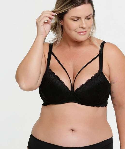 Image_Sutiã Feminino Com Base Renda Strappy Plus Size Marisa