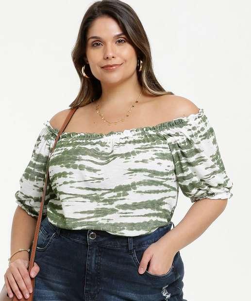 Image_Blusa Feminina Tie Dye Ombro a Ombro Plus Size
