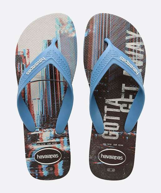 Image_Chinelo Havaianas Masculino Estampa Top Max Motion
