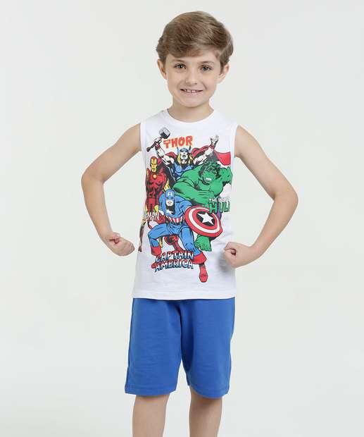 Image_Conjunto Infantil Estampa Os Vingadores Marvel