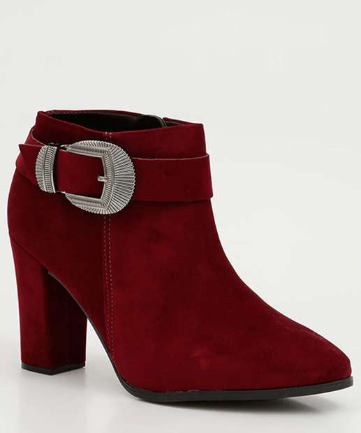 Image_Bota Feminina Nobuck Ankle Boot Fivela Beira Rio