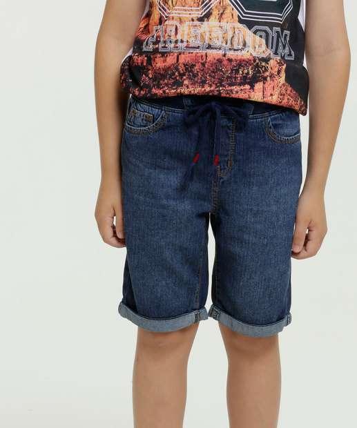 Image_Bermuda Infantil Jeans Bolsos Marisa