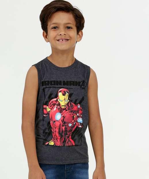 Image_Regata Infantil Estampa Homem de Ferro Marvel