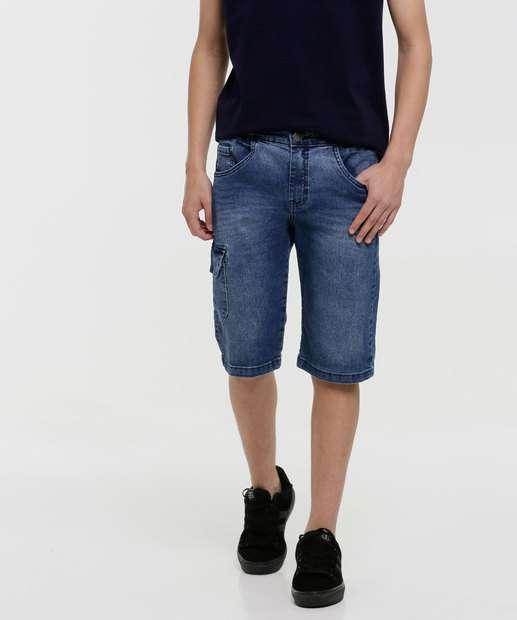 Image_Bermuda Juvenil Jeans Bolsos Tam 10 a 16