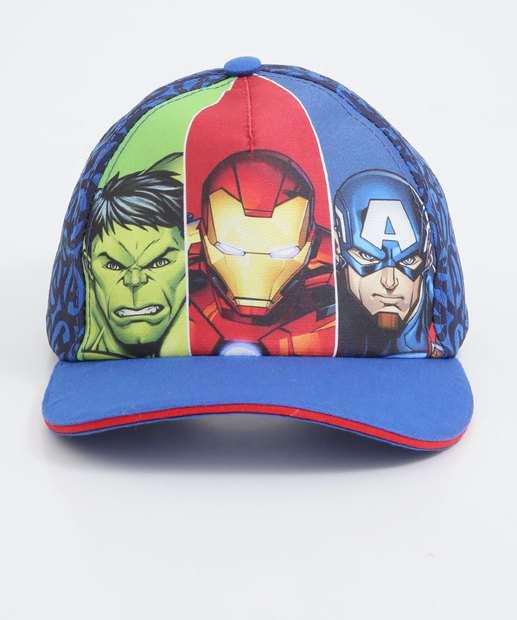 Image_Boné Infantil Estampa Vingadores Marvel